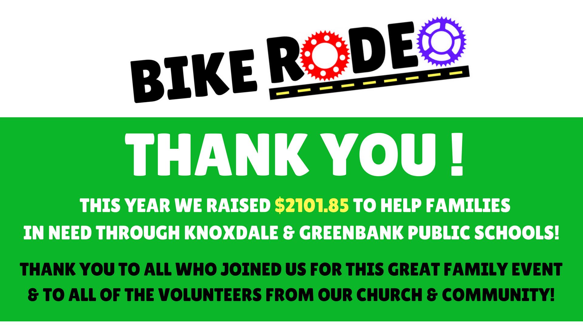 bike rodeo 2017 arlington woods church